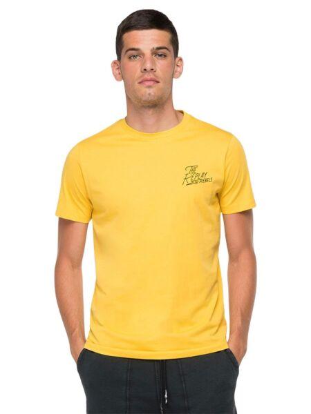 Replay - Žuta muška majica