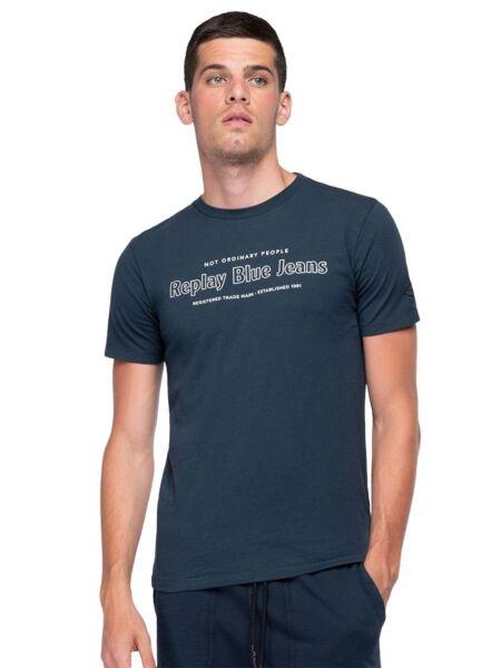 Replay - Logo print muška majica