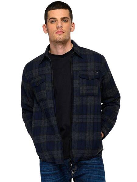Replay - Muška košulja od flanela