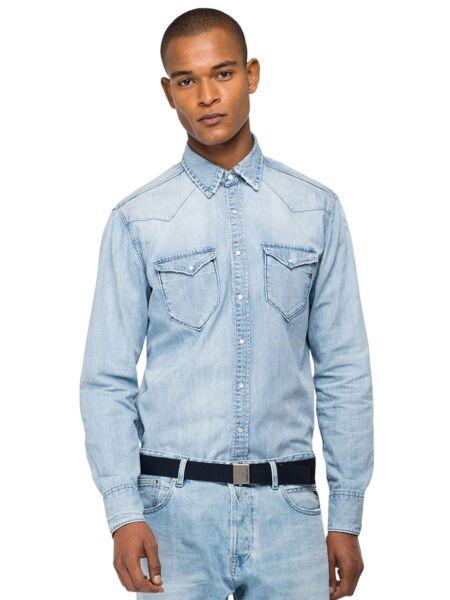 Muška teksas košulja - Replay
