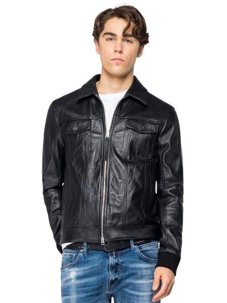 Crna muška jakna - Replay