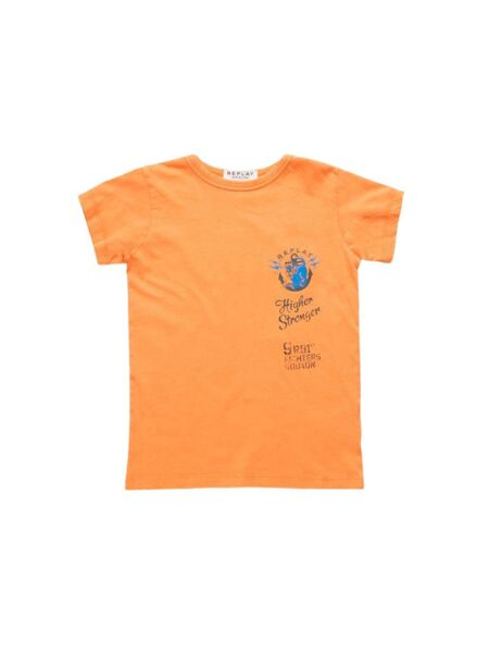 Replay - Narandžasta majica za dečake