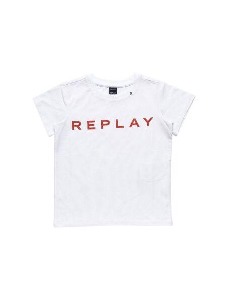 Replay - Logo majica za devojčice