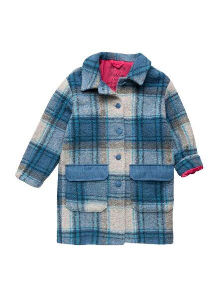 Replay - Karirani kaput za devojčice