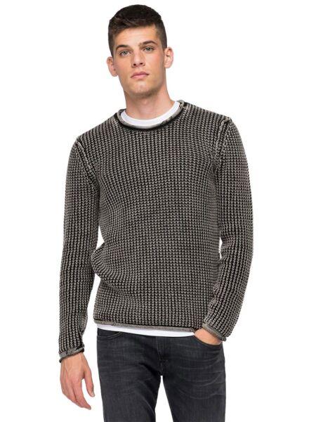 Replay - Crni muški džemper