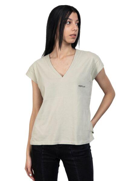 Ženska majica sa V izrezom - Replay