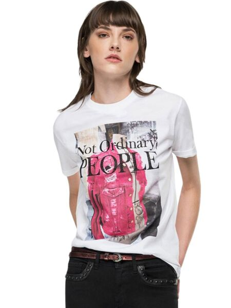 Replay - Ženska majica sa grafikom