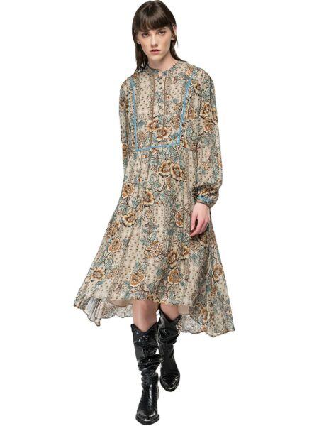 Replay - Asimetrična cvjetna haljina
