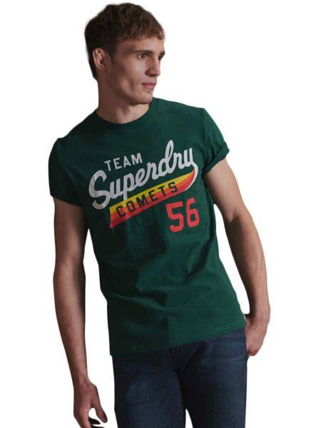 Tamnozelena muška majica - Superdry