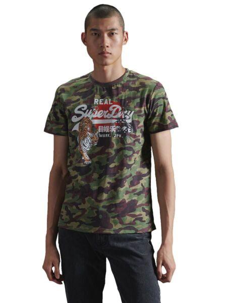 Muška military majica - Superdry