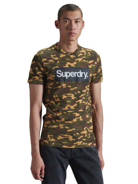 Maskirna muška majica - Superdry
