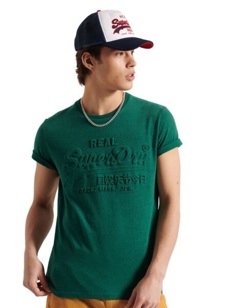 Superdry - Zelena muška majica