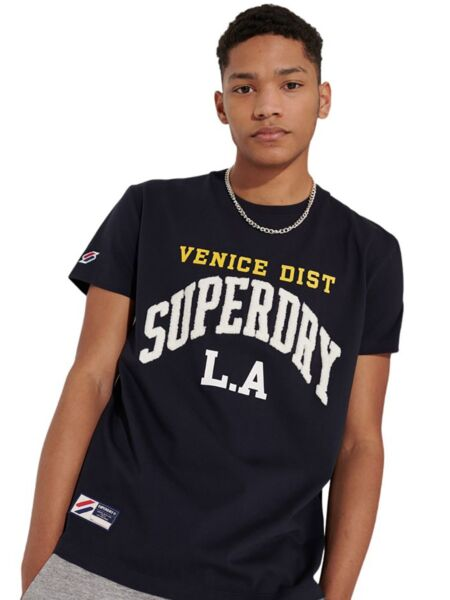 Superdry - Crna muška majica