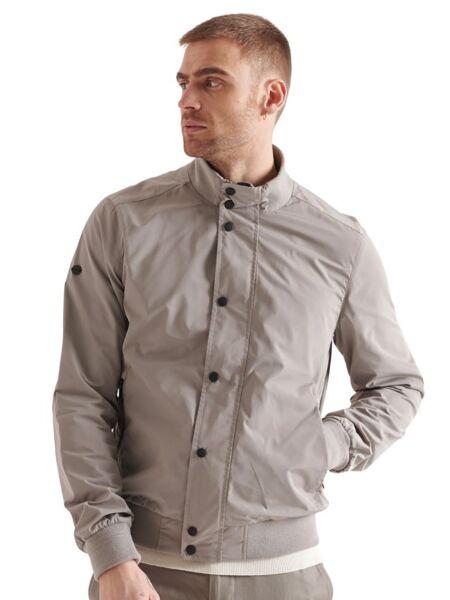 Siva muška jakna - Superdry