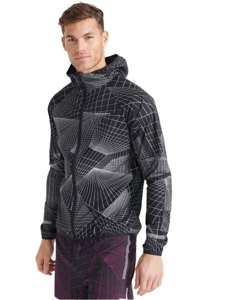 Muška jakna za trčanje - Superdry