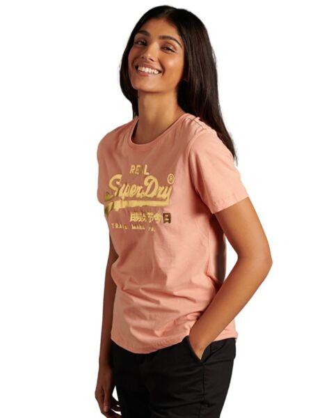 Baby roza ženska majica - Superdry
