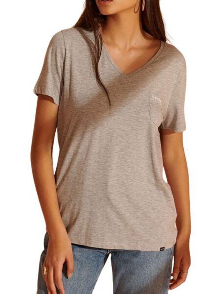 Siva ženska majica - Superdry