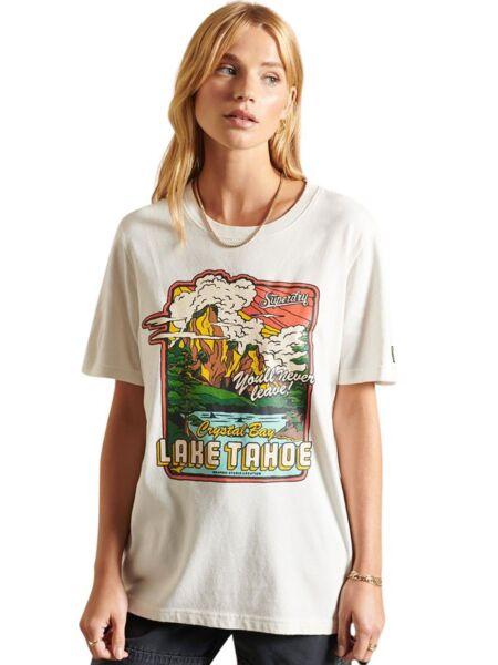 Superdry - Ženska majica sa grafikom