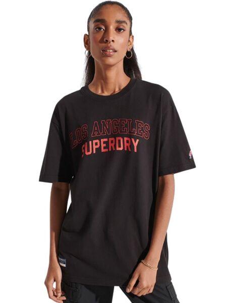 Superdry - Crna ženska majica