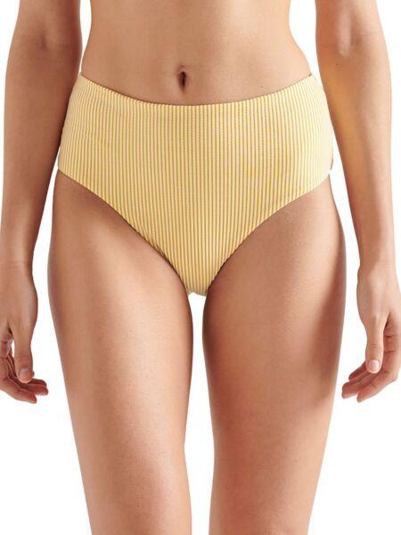 Žuti bikini sa dubokim strukom - Superdry