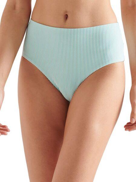 Plavi bikini sa dubokim strukom - Superdry