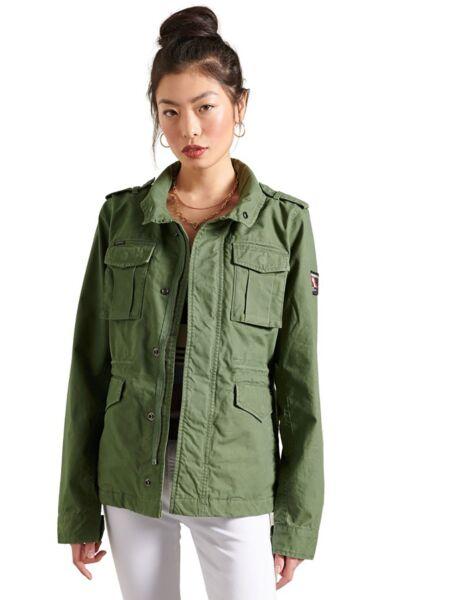 Maslinasta ženska jakna - Superdry