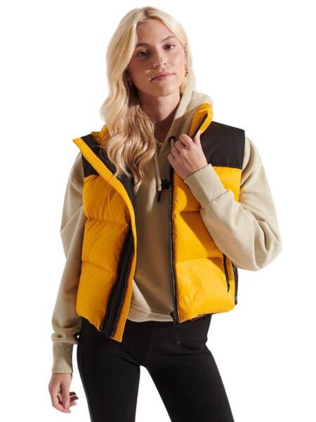 Superdry - Žuti ženski prsluk