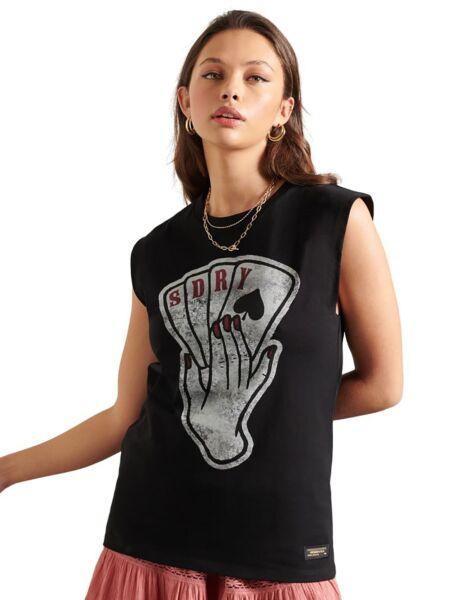 Ženska majica bez rukava - Superdry