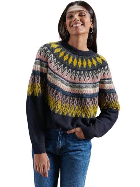 Ženski šareni džemper - Superdry