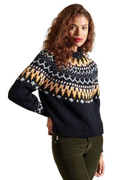 Superdry - Teget ženski džemper