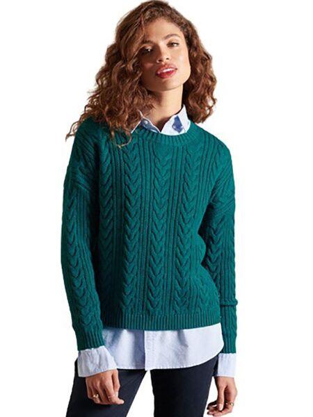 Superdry - Zeleni ženski džemper