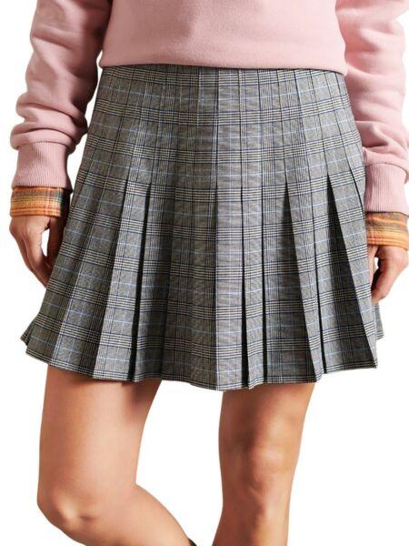 Superdry - Karirana mini suknja