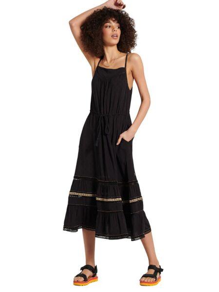 Lepršava midi haljina - Superdry