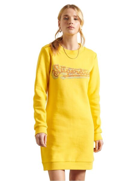 Superdry - Mini duks-haljina