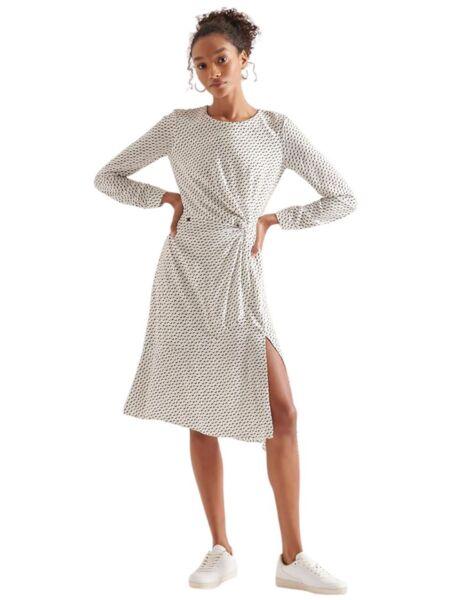 Midi haljina dugih rukava - Superdry