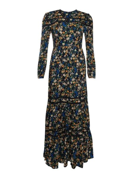 Superdry - Cvetna maxi haljina