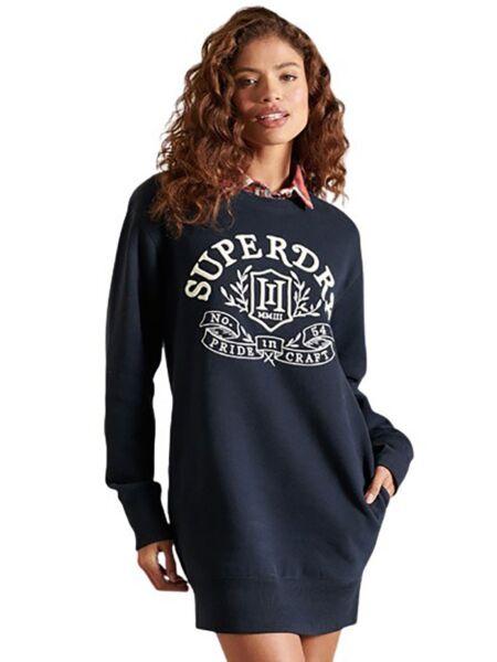 Superdry - Teget mini duks-haljina
