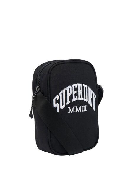 Superdry - Crna muška torbica
