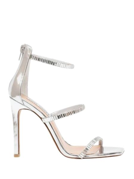 Srebrne ženske sandale - Steve Madden