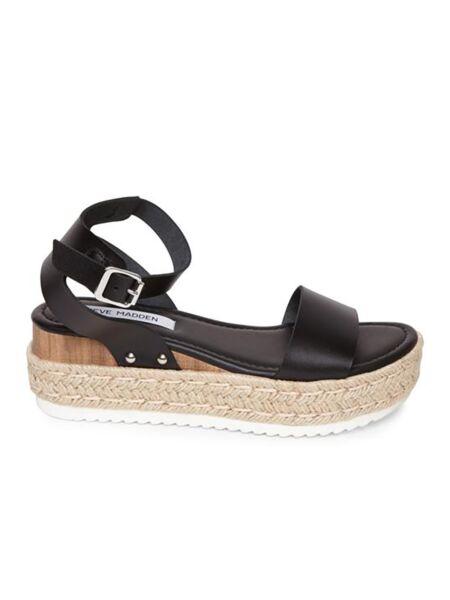 Crne ženske sandale - Steve Madden