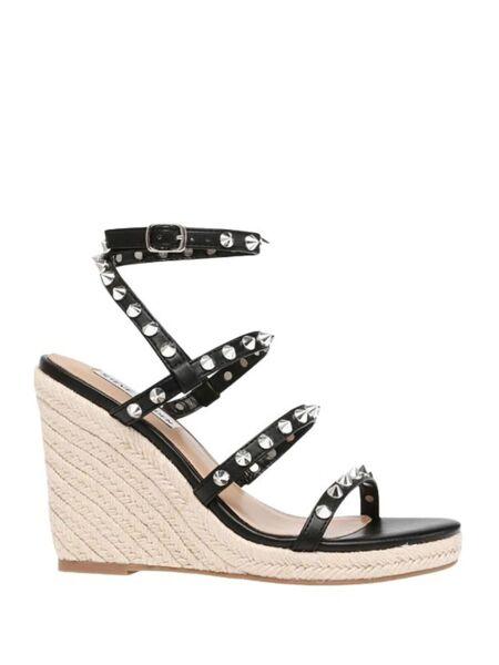 Crne sandale sa platformom - Steve Madden