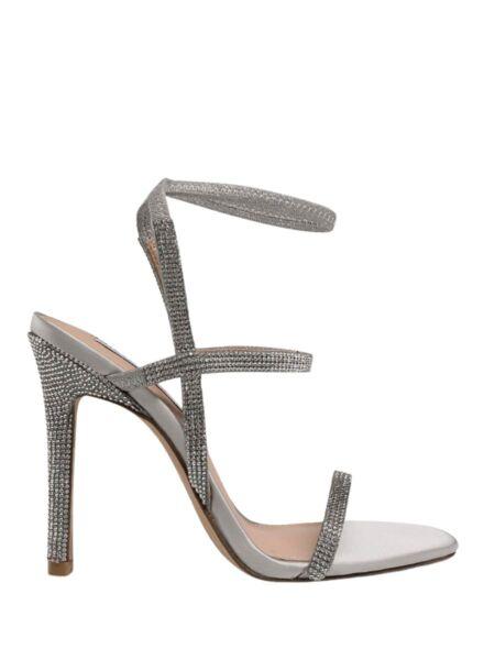 Srebrne sandale sa cirkonima - Steve Madden