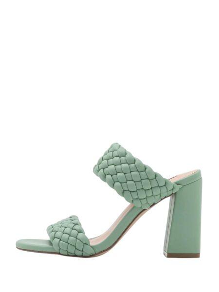 Zelene papuče sa štiklom - Steve Madden