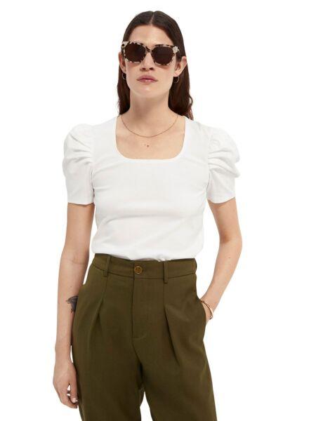 Scotch&Soda - Ženska majica sa puf rukavima