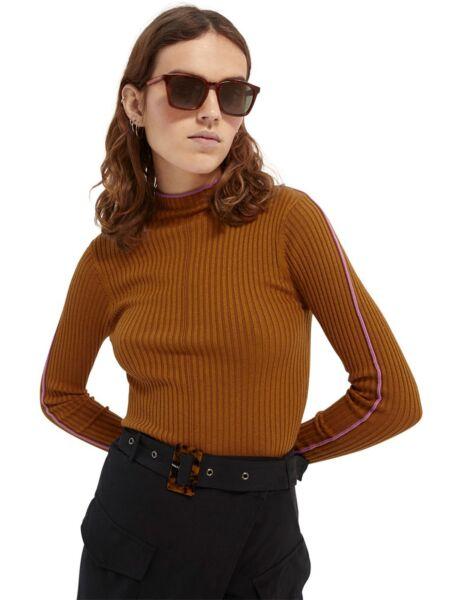 Scotch&Soda - Braon ženski džemper