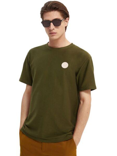 Scotch&Soda - Maslinasta muška majica