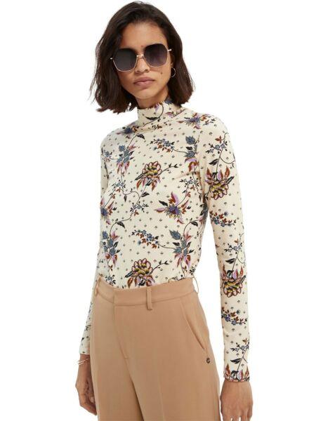 Scotch&Soda - Cvetna ženska majica
