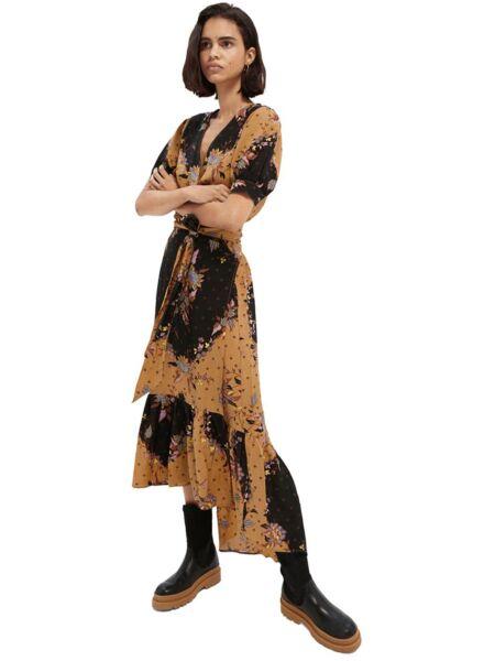 Scotch&Soda - Maxi haljina sa printom