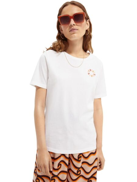Scotch&Soda - Bela ženska majica