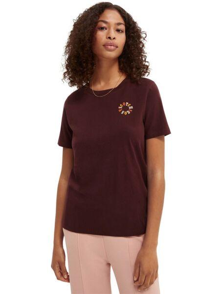 Scotch&Soda - Bordo ženska majica
